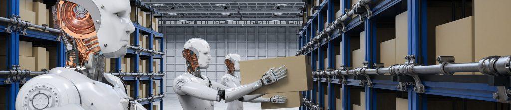 Robots Lifting Boxes | Naples Global Advisors, SEC Registered Investment Advisor