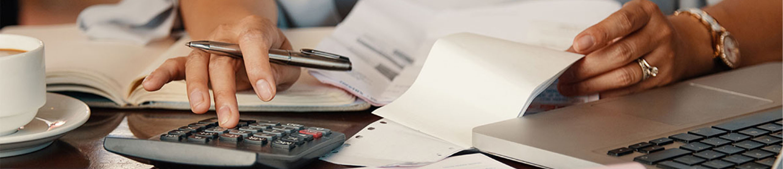 Woman Doing Taxes | Naples Global Advisors, SEC Registered Investment Advisor