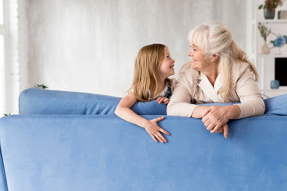 Grandmother and Granddaughter | Naples Global Advisors, SEC Registered Investment Advisor